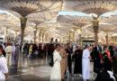 Umra 2017/2018 – Podne namaz u Poslanikovoj džamiji u Medini